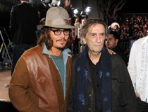Johnny Depp and Harry Dean Stanton