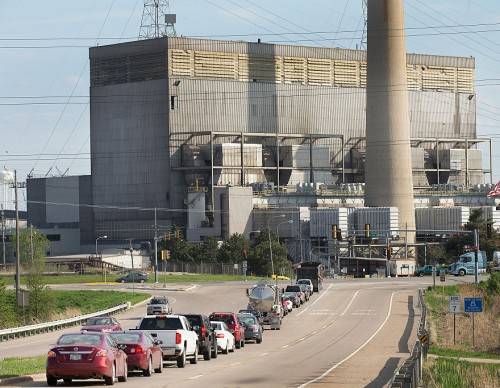 Industrial Factories Contributes to CO2 spike