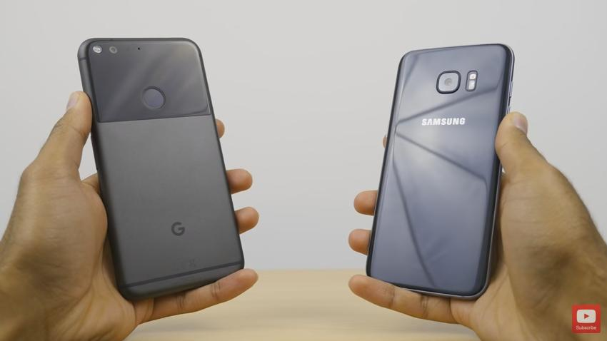 Samsung S7 Edge vs. Google Pixel XL: A Choice Between The Android Headliners