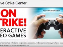 EA's Front Door Stormed By At Least 250 Protesters In Support of Video Game Voice Actors' Union
