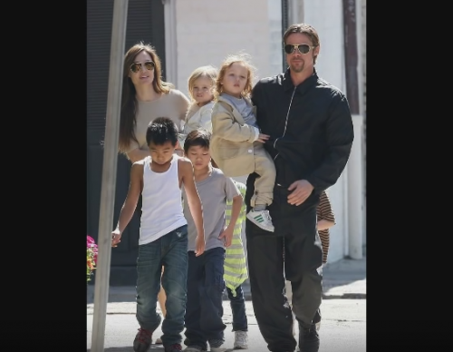 Angelina Jolie and kids 'quizzed by FBI' over incident between Brad Pitt and Maddox