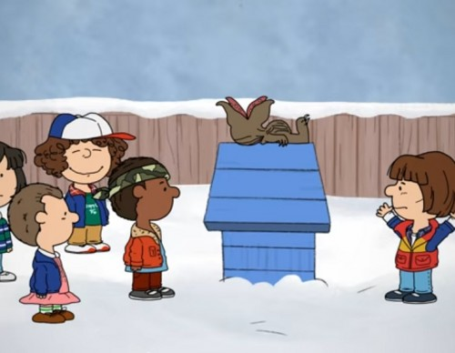 'Stranger Things' Meet 'Peanuts' In A Charlie Brown Christmas Special Mashup