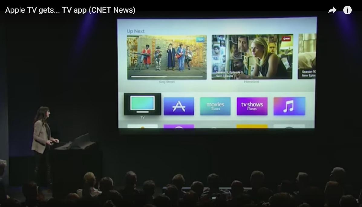 Apple's TV app