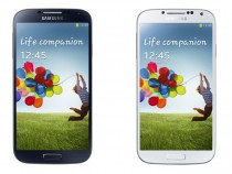 Galaxy S4 Black Mist(L) and Galaxy S4 White Frost