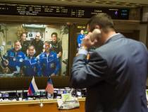 Expedition 49 Soyuz Docking