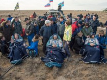 Astronauts' ISS Mission Ends After 115 Days