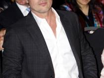 Brad Pitt in London
