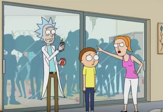 Rick and Morty - All Uncensored Parts from Season 1