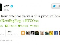 HTC Twitter Page Blasting Samsung Galaxy S4