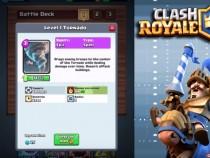 Clash Royale Tornado Card