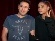 Andy and Ariana Grande's scary adventure in the Haunted House