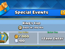 Clash Royale | New Challenge Feature! | King's Cup