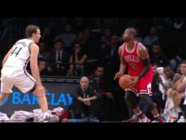 Dwyane Wade Shows Off Moves Bulls vs Nets