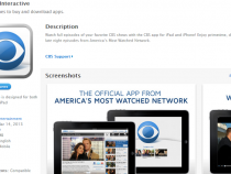 CBS App for iPhone and iPad