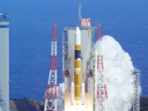 First Japanese Rocket With Manga Art Images Launched
