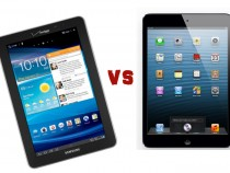 Samsung Galaxy Tab 7.7 vs iPad Mini
