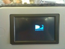 In-flight DirecTV