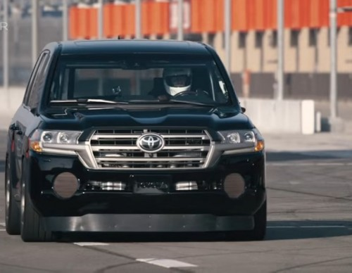 Toyota Unveils Turbocharged Land Speed Cruiser; Takes SEMA 2016 By Storm