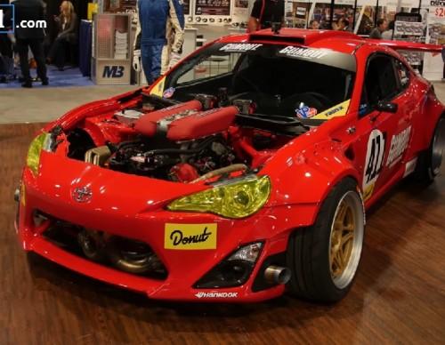 Ferrari Powered Toyota GT4586: One Of A Kind Drifting Machine