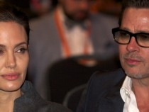 Angelina Jolie and Brad Pitt in London