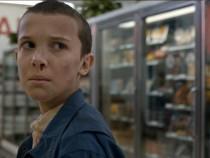 Eleven on Stranger Things