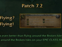 Legion Patch 7.2 Preview - 12 Epic New Class Based FLYING Mounts