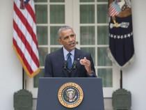 President Barack Obama Delivers Remarks On The Paris Agreement