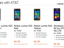 Microsoft Store Nokia Lumia 920 And HTC 8X Deals