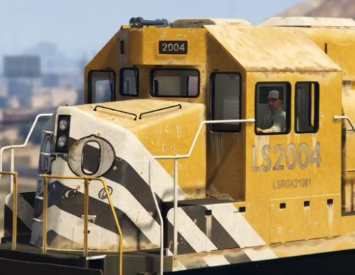 Here's Why You Can't Stop The GTA 5 Freight Train