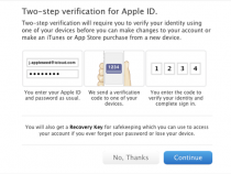 Apple ID Two-Step Verification