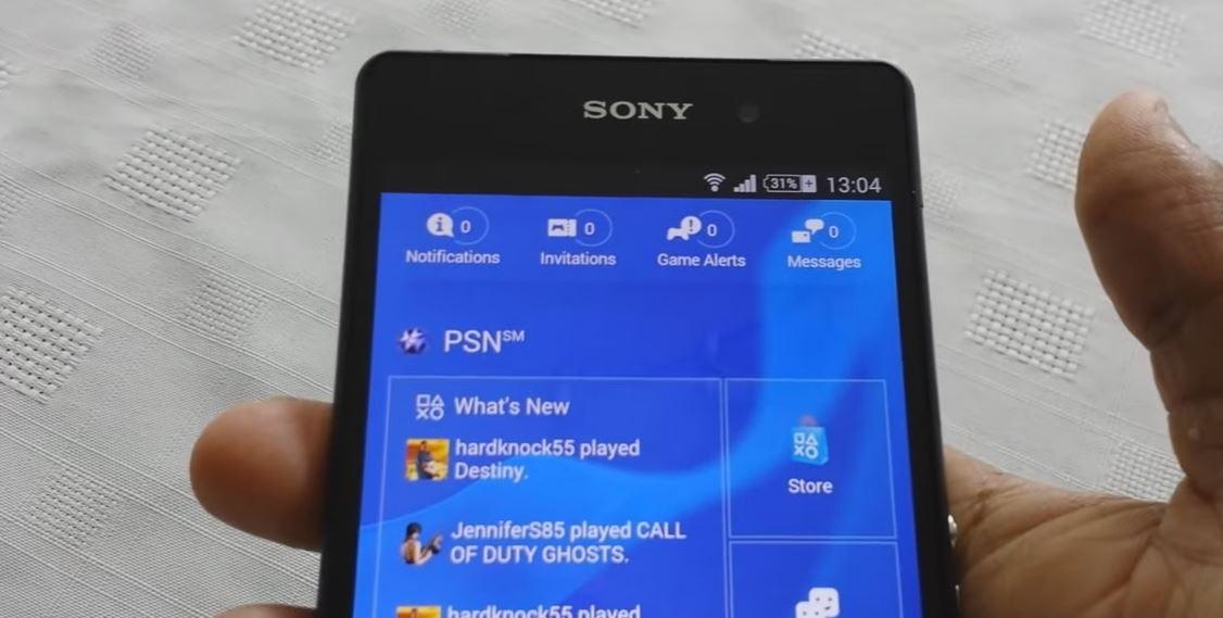 Sony Xperia Z2 (PLAYSTATION POCKET)