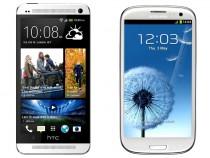 HTC One & Samsung Galaxy S3