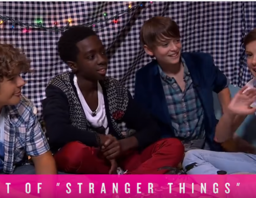 'Stranger Things' Cast discuss Season Two in a blanket fort interview.