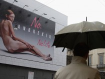 Fashion Brand Nolita Advertising Campaign Against Anorexia