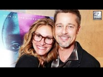 Brad Pitt's First Public Appearance (After Divorce) With Julia Roberts