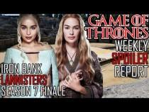 [Game of Thrones] Season 7 Weekly Spoiler Report | Season Finale