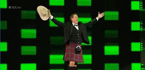 JBL journeys to SmackDown LIVE in full Scottish regalia: SmackDown LIVE Exclusive Nov. 8, 2016