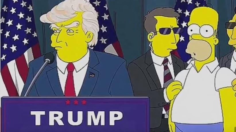 Trump presidency predicted by 'The Simpsons'