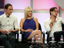 'The Big Bang Theory' Actors Jim Parsons, Kaley Cuoco, Johnny Galecki