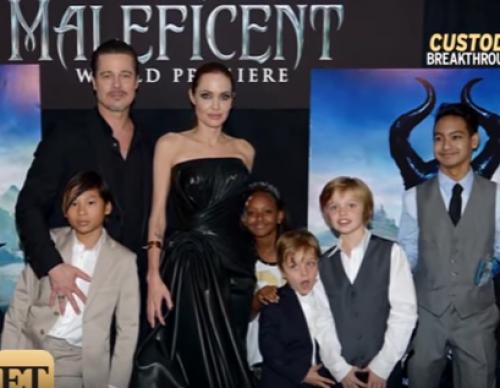 Inside Brad Pitt and Angelina Jolie's New Custody Arrangement