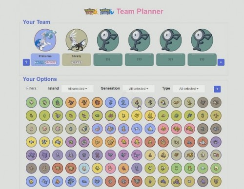 Pokemon Sun And Moon Online Team Planner Will Help You Build The Very Best Pokemon Team