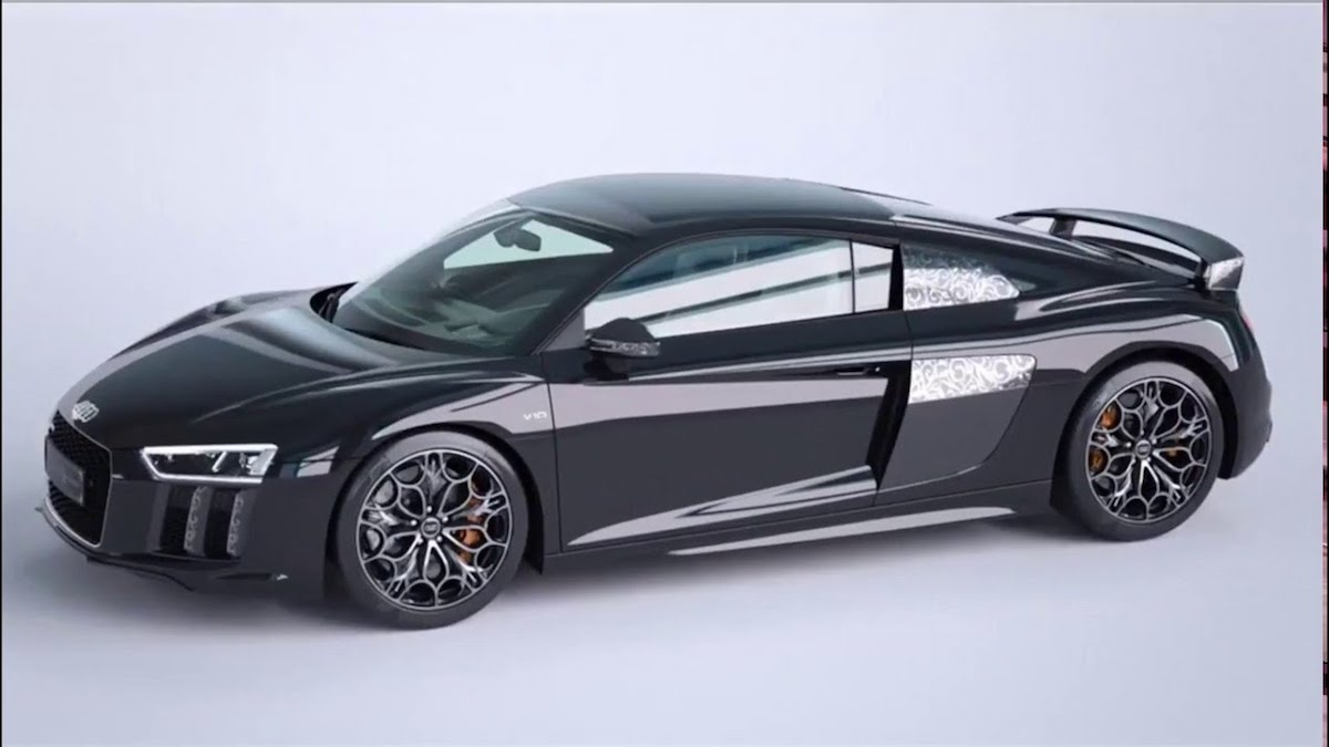 Audi Just Released A Kingsglaive Version Of The R8 For More Than Double The Regular Price