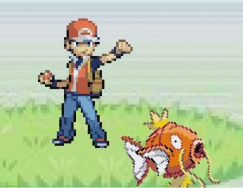 Pokemon Magikarp Splash Attack HD