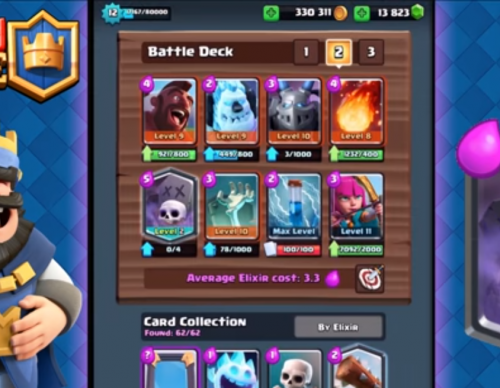 5 Straight 12 Wins in Grand Challenges! Clash Royale - Best Graveyard Deck and Strategy!