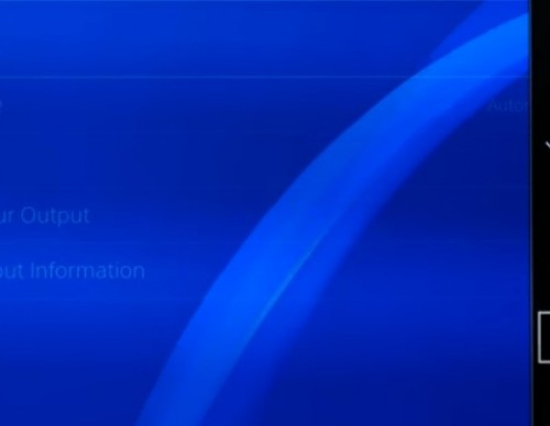 PS4 Pro Glitch