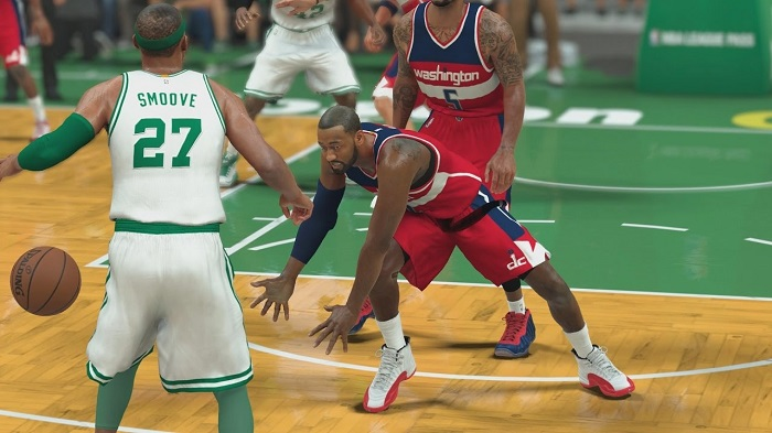 NBA 2K17 Receives A Quick 7.6GB Patch; Added All-Star Tournament And More