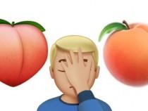 Apple Reintroduce The Peach 'Butt-like' Emoji In iOS 10.2 Beta