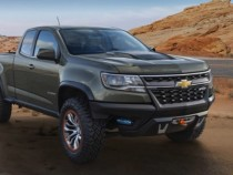 2017 Chevy Colorado ZR2 Off-Roader Joins The Pickup Wars