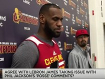 LeBron James Fires Back At Phil Jackson's Posse Comment - NBA The Jump