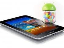 Galaxy Tab 7.0 Plus Jelly Bean Update